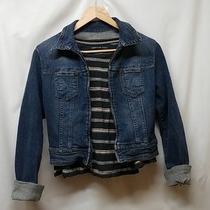 Guess- Zip up Jean Jacket